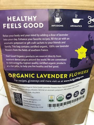 OrganicLavenderFlowers