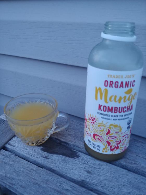MangoKombuchaGlass